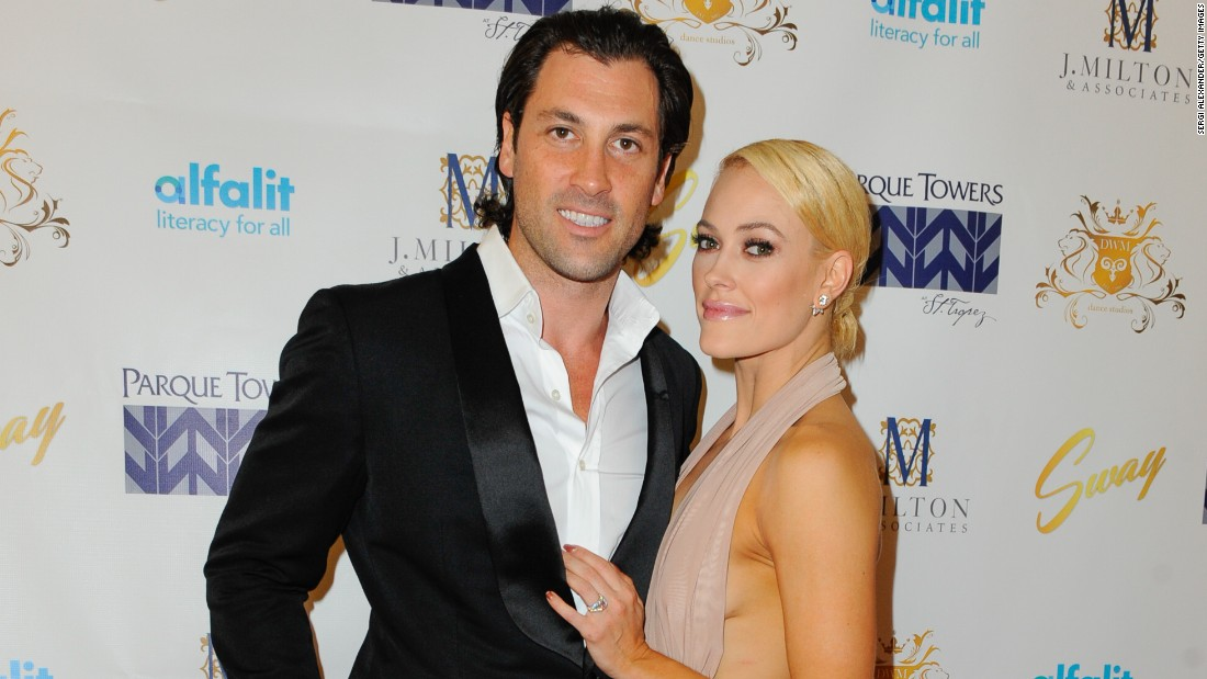 "Former ""Dancing With the Stars"" pro Maksim Chmerkovskiy has proposed to Peta Murgatroyd, who has also appeared on the show. He popped the question on stage Saturday, December 5, during a performance of ""SWAY: A Dance Trilogy"" in Miami."