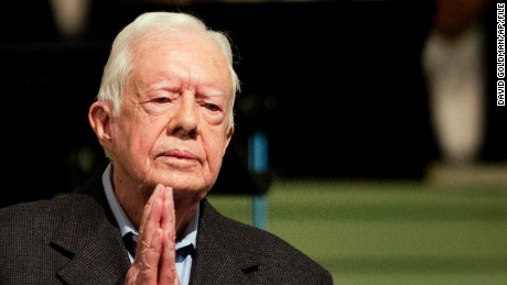 Jimmy Carter announces he's cancer free