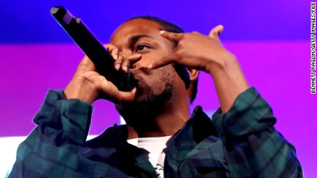 NEW YORK, NY - OCTOBER 22:  Rapper Kendrick Lamar performs onstage during 105.1s Powerhouse 2015 at the Barclays Center on October 22, 2015 in Brooklyn, NY.  (Photo by Bennett Raglin/Getty Images for Power 105.1's Powerhouse 2015)
