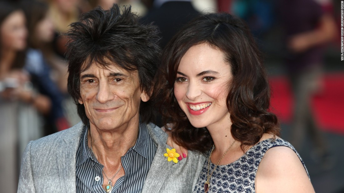 Rolling Stone's Ronnie Wood becomes dad to twins -- at 68