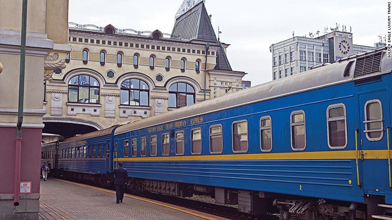 The Golden Eagle lets travelers experience Russia in style.