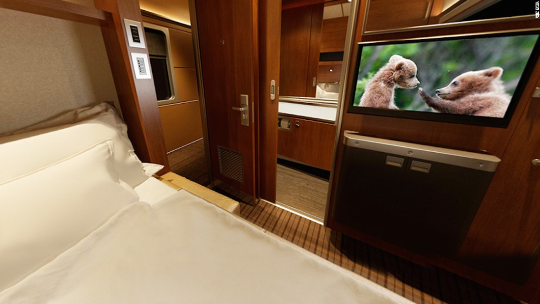 World 39 S Most Luxurious Train Journeys: via rail canada cabin for 2