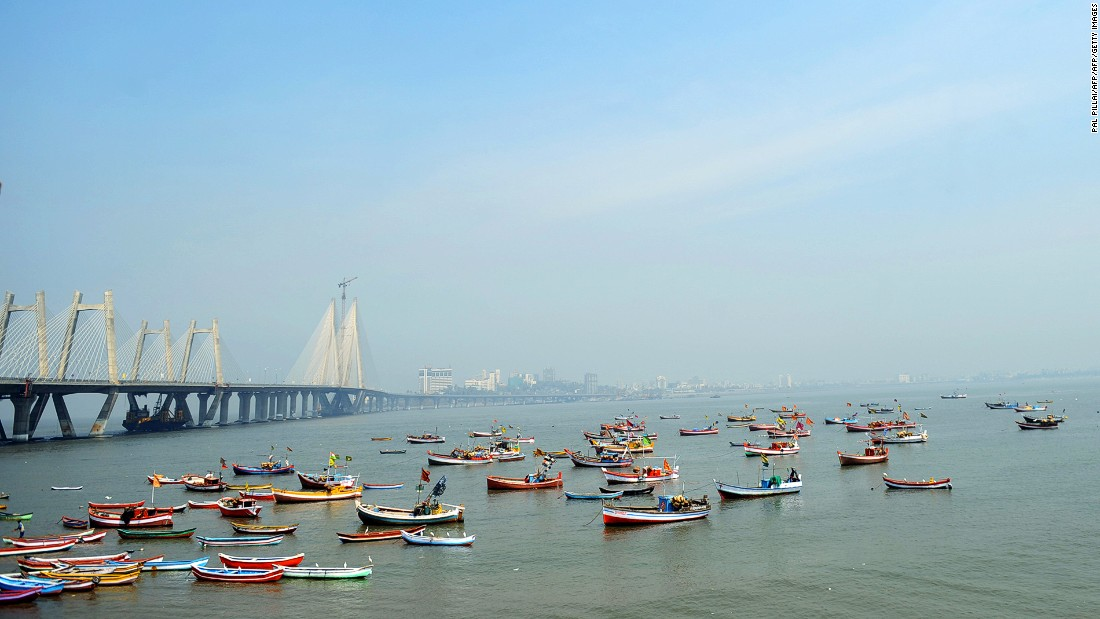 Rajiv Gandhi Sea Link, or Bandra-Worli Sealink, is an eight-lane 5.6-kilometer-long bridge linking Bandra and Worli in South Mumbai. Fully opened in 2010, the bridge has become one of the city's new landmarks.
