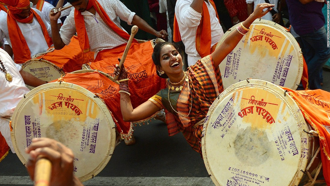 If there's one thing Mumbai knows, it's how to throw great parties. In March, this procession celebrated Gudhi Padva, or the Hindu new year for the people of Maharashtra state.