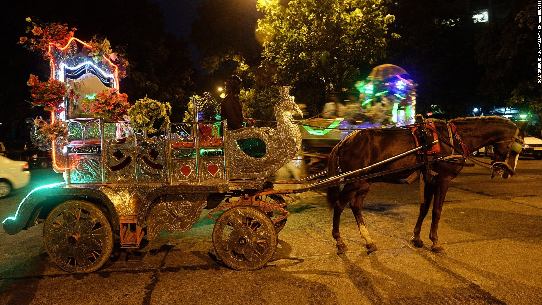 Ornate Victorian-style horse-drawn carriages have been strolling Mumbai's streets since British colonial times. Earlier this year the government announced the carriages would soon cease operations in the city to protect animal welfare.