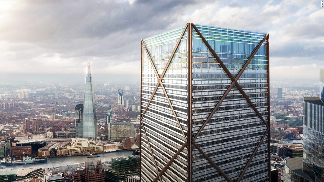 1 Undershaft will sit across the river from London's tallest building, The Shard, which is 9.6 meters taller. <br /><br /><strong>Height: </strong>300m (984ft) <strong><br />Floors: </strong>73<br /><strong>Architect: </strong>Aroland Holdings