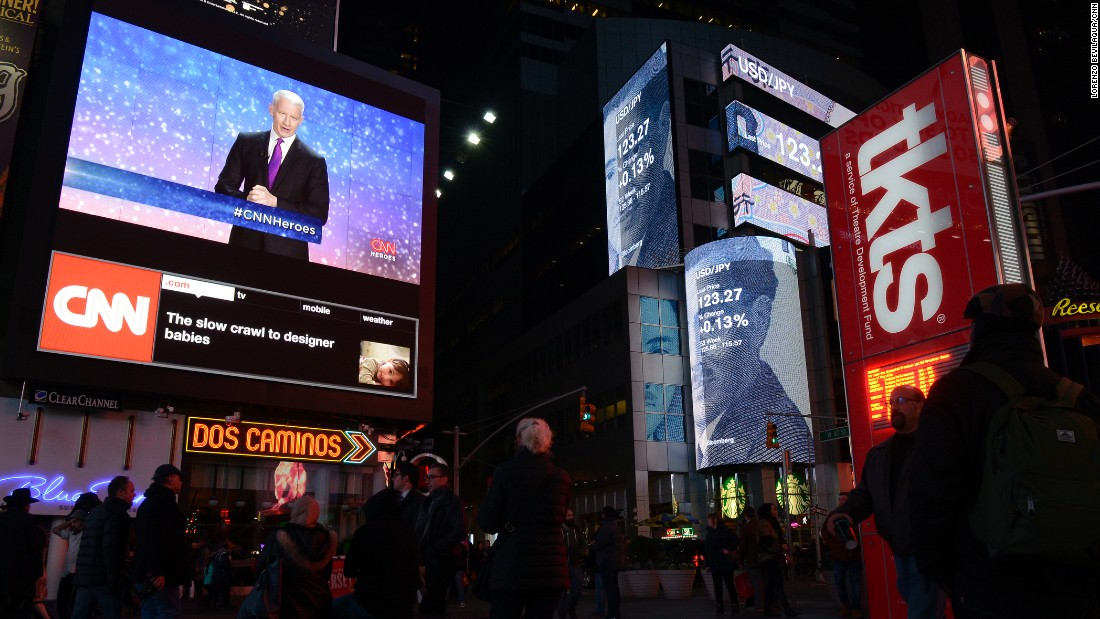 The premiere broadcast  was shown live on the big screen at Times Square in New York City, on Sunday, Dec. 6.  Click through the gallery for more photos from the event.