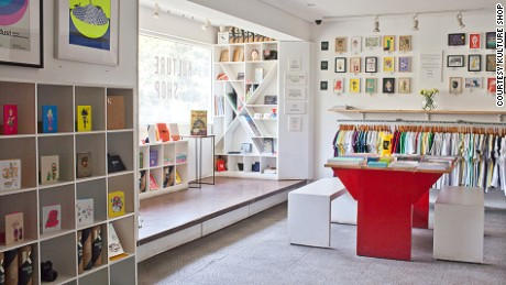 Kulture Shop is a diverse showroom of Indian's graphic design talents.