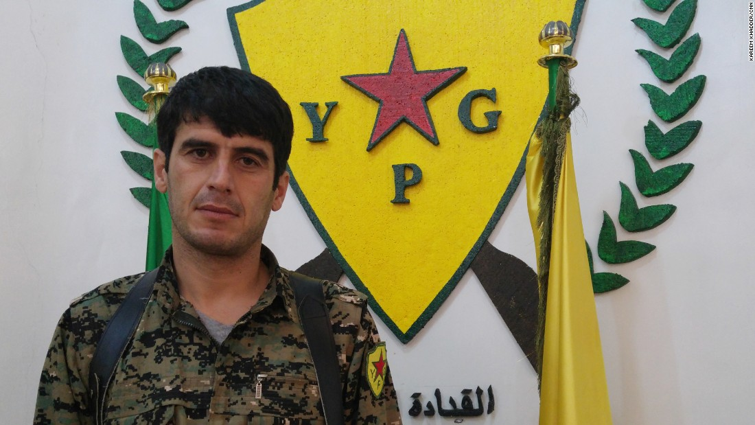 Lewand Rojava, a 35-year old commander of the Kurdish YPG, the Peoples' Defense Units -- arguably the most effective fighting force in the war on ISIS in Syria.