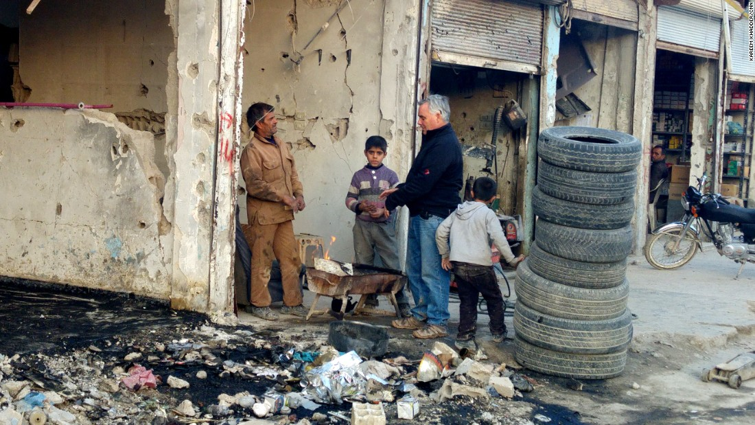 Despite the destruction, Kobani residents are trying revive their town. Businesses are reopening and people are returning to what's left of their homes.