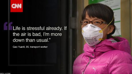 Beijing smog: What's it like to breathe the air?