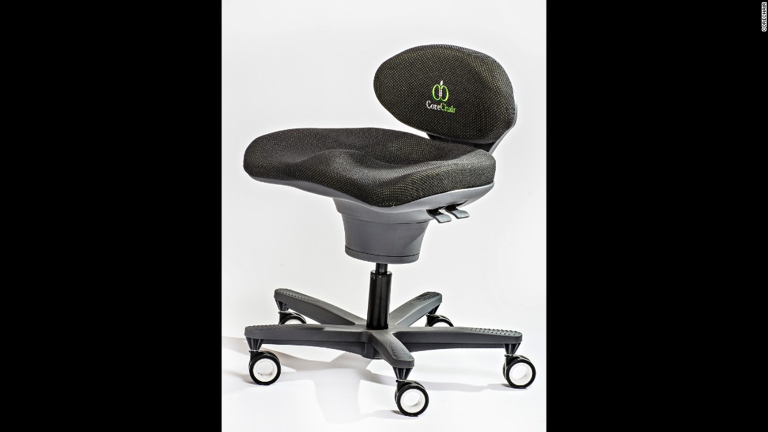 Research by CoreChair suggests its product activates abdominal muscles more than a balance ball. But you can also just lock the chair in position and use it like any other chair.