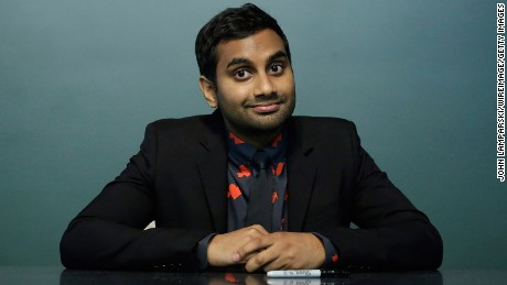 """NEW YORK, NY - JUNE 16:  Aziz Ansari signs copies of his book """"Modern Romance"""" at Barnes & Noble Union Square on June 16, 2015 in New York City.  (Photo by John Lamparski/WireImage)"""