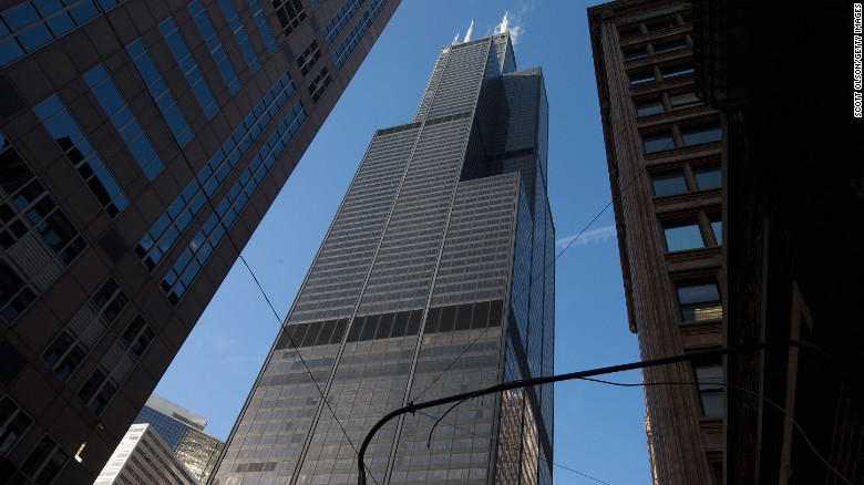 The Willis Tower in Chicago, formerly the Sears Tower and once the tallest building in the world, was designed by Fazlur Rahman Khan.