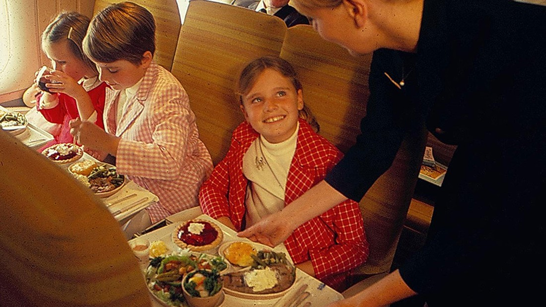 Fussy children weren't catered for with cartoon character fun meals back then. Nope, these kids got whopping steaks and they were happy about it.
