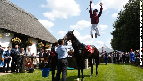"""Dettori most cherished achievement is winning all seven races at Ascot in September 1996. """"It's never been done before in 300 years of horse racing and it was done on a huge day,"""" Dettori told CNN. For me (being a jockey) is like going on stage -- I come alive. I embrace it, it's part of my life."""""""