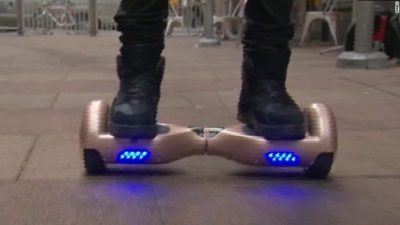Hoverboard concerns after series of fires