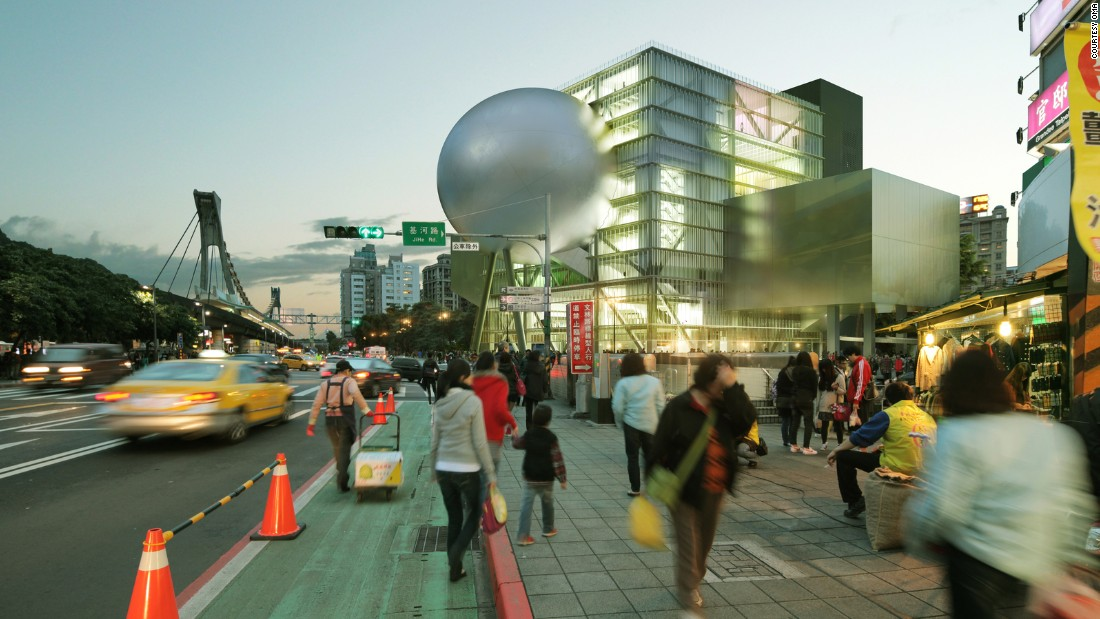 "Also coming soon in Taipei: <a href=""http://oma.eu/"" target=""_blank"">Rem Koolhaus and David Gianotten of OMA's</a> theatrical performing arts center. The experimental design sees a skeletal frame supporting a massive orb."