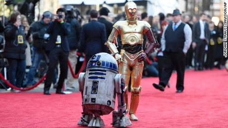 'Star Wars: The Force Awakens' premiere