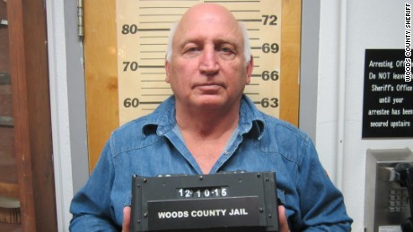 John Parsley was accused of driving his truck through a hotel lobby.