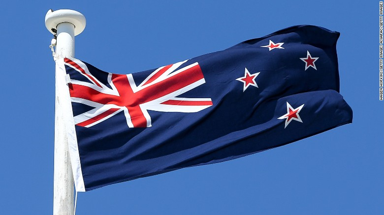 New Zealand Rejects Changing Flags CNN - New zealand flags