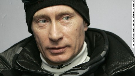 Russian President Vladimir Putin is seen at the Krasnaya Polyana skiing centre, outside the Black Sea resort of Sochi, 05 January 2007, the place for Winter Olympics 2014.   AFP PHOTO / RIA NOVOSTI / KREMLIN / DMITRY ASTAKHOV (Photo credit should read DMITRY ASTAKHOV/AFP/Getty Images)