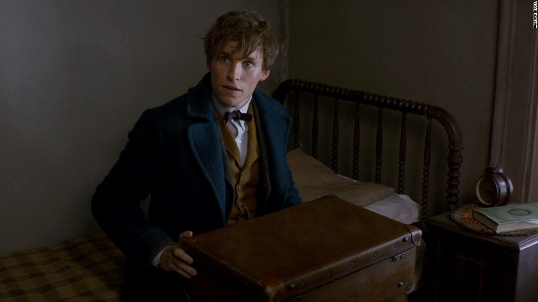 "Eddie Redmayne stars as magician Newt Scamander in ""Fantastic Beasts and Where to Find Them,"" a prequel to the Harry Potter series. The movie opens November 18."