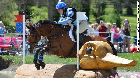 Alice Dunsdon  riding FERNHILL PRESENT GBR