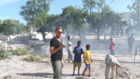 At the Battle of Mogadishu site.