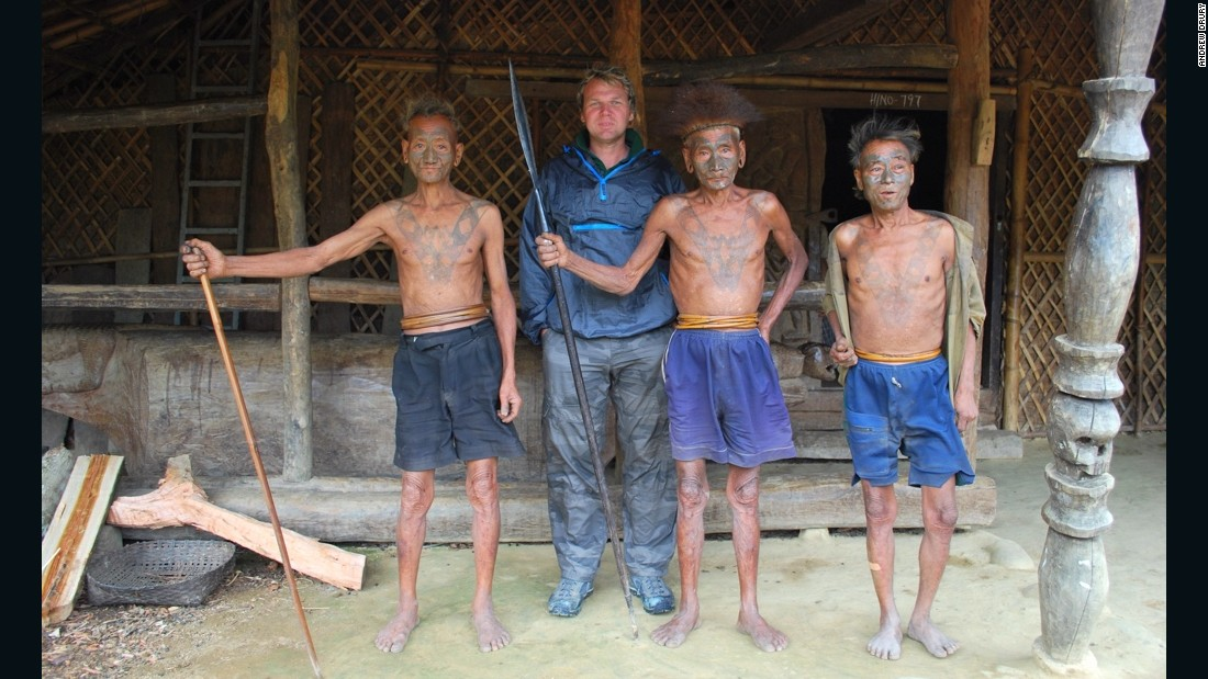 2011: With the Naga people on the Myanmar-India border. The Naga have been described as the last headhunting tribe in the world, although the practice has now died out.