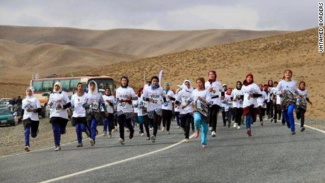 Untamed Borders organized the first ski trips to Afghanistan - and the nation's first official marathon.