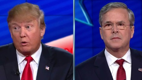 doanld trump jeb bush cnn gop debate sot _00010230