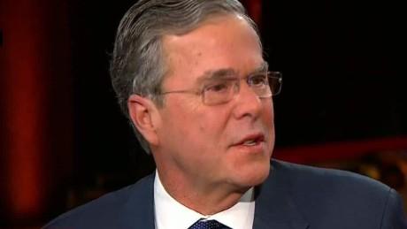 bush trump post debate intv newday_00004720