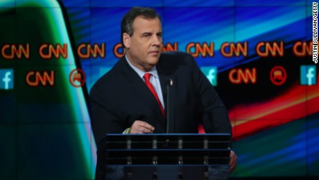 Christie won't discuss Trump's use of 'schlonged'