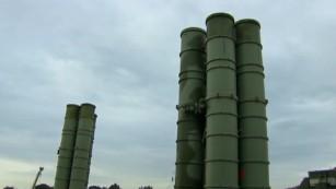 近いシリアのロシアのS-400ミサイルシステムとアップ