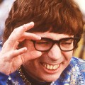 "Mike Myers shows off his winning smile in 1999 film ""Austin Powers: The Spy Who Shagged Me."""