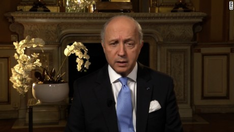 LAURENT FABIUS, FRENCH FOREIGN MINISTER