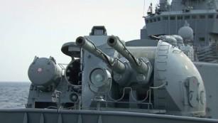 ロシア軍の軍艦がシリアに強力なメッセージを送ります