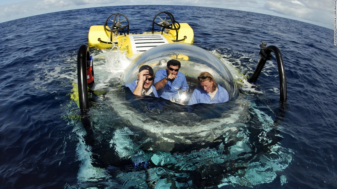 "California-based <a href=""http://www.seamagine.com/"" target=""_blank"">SEAmagine</a> offers several types of personal submersibles that accommodate two to four people. They're designed to dive to depths from 500 feet to 3,300 feet, depending on the model. The base model sells for about $1.2 million."