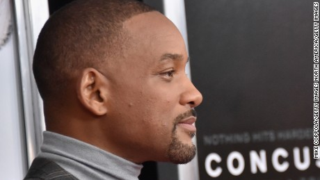 "NEW YORK, NY - DECEMBER 16:  Actor Will Smith attends the ""Concussion"" New York Premiere at AMC Loews Lincoln Square on December 16, 2015 in New York City.  (Photo by Mike Coppola/Getty Images)"