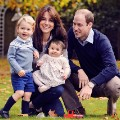 duke abd duchess cambridge christmas photo