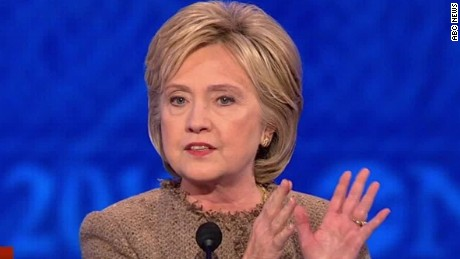 abc news democratic debate clinton gun control trump isis sot_00004226.jpg