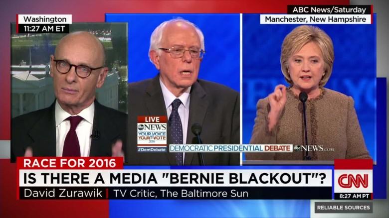 Has Bernie Sanders been 'woefully under-covered?'