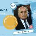 FIFA scandal collector cards Blatter banned