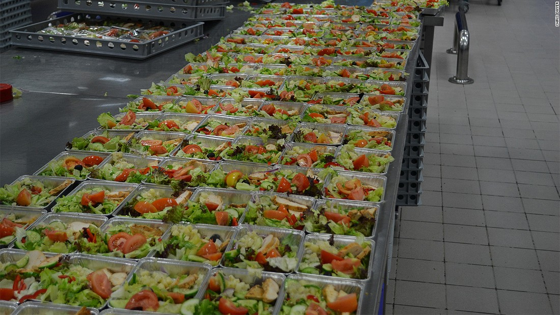 """""""We have absolute traceability,"""" says Heymeijer. """"We know everything on every dish on every flight."""""""