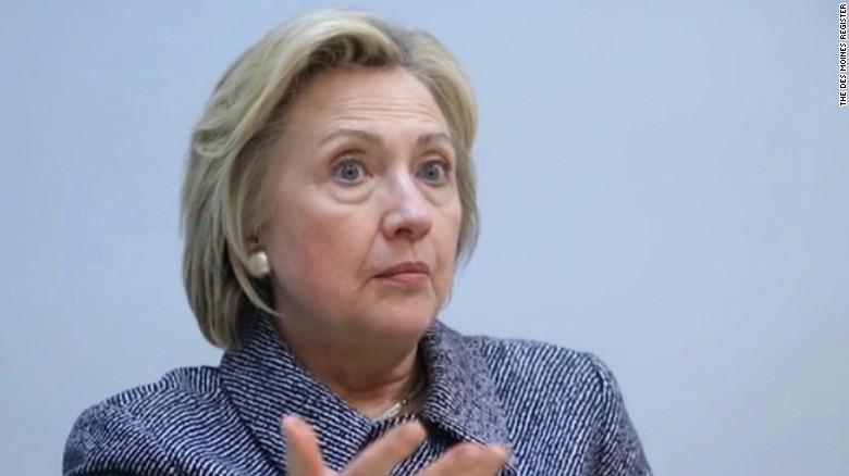 Clinton unloads on Trump's 'hateful' comment