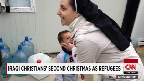 Iraqi Christians celebrate Christmas after fleeing ISIS_00003013