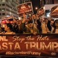 Donald Trump SNL Protest