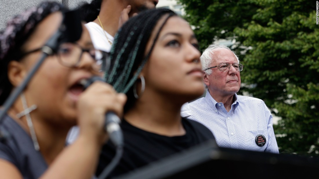 The political activism entered the 2016 campaign, with some parts of the movement deciding to interrupt presidential candidates to demand more be done.