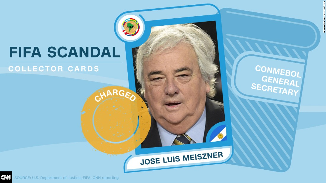 FIFA scandal collector cards Meiszner